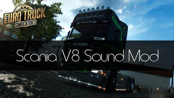Scania V8 Sound by Zeeuk1 v 3.0