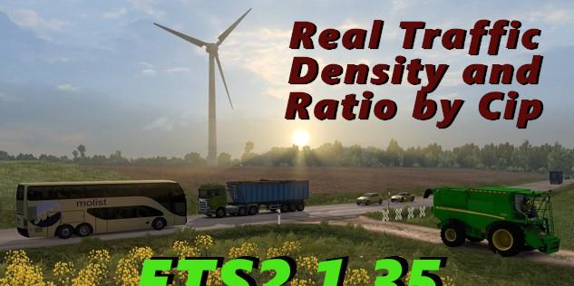 Real Traffic Density and Ratio ETS2 1 35 f | ETS2planet net