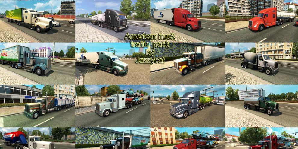 American Truck Traffic Pack by Jazzycat v 1 9 | ETS2planet net