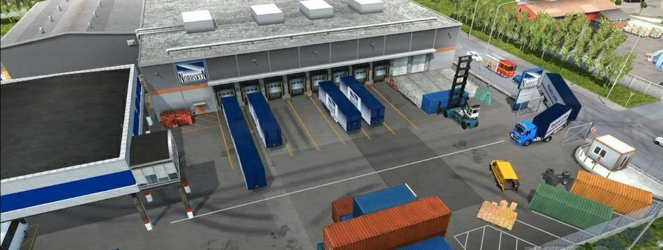 Real Parking Difficulties version 0.6b for Euro Truck Simulator 2 (v 1.35.x, 1.36.x ...