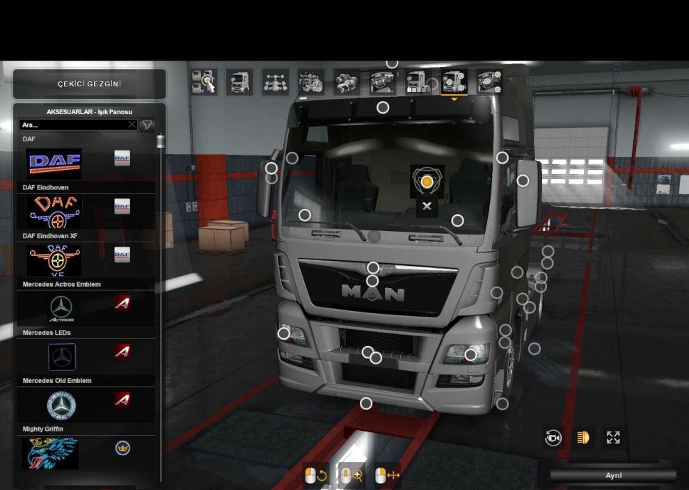 Interior Lights For All Scs Trucks Sp